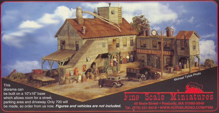 FSM Kits  com formerly known as Fine Scale Miniatures  com